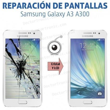 Reparación pantalla Samsung Galaxy A3 A300