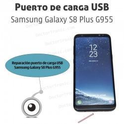 Reparación puerto de carga USB Samsung Galaxy S8 Plus G955