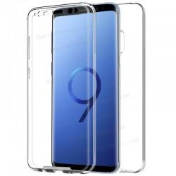 Funda Silicona 3D Samsung G960 Galaxy S9 (Transparente Frontal + Trasera)