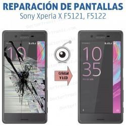 Cambio pantalla completa Sony Xperia X F5121, F5122