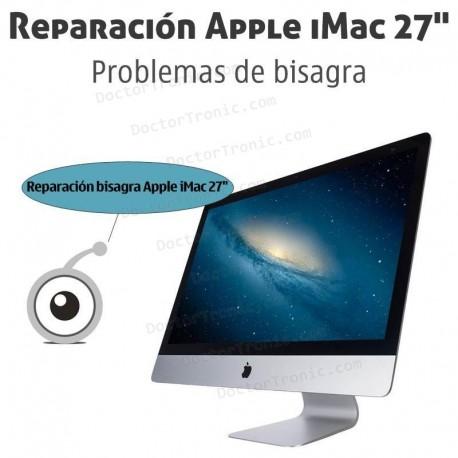 """Reparación bisagra Apple iMac 27"""" A1419"""