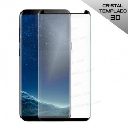Protector Pantalla Cristal Templado Samsung G950 Galaxy S8 (Curvo Borde Negro)