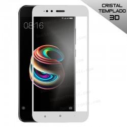 Protector Pantalla Cristal Templado Xiaomi Mi A1 / Mi 5X (FULL 3D Blanco)