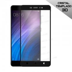 Protector Pantalla Cristal Templado Xiaomi Redmi 4 Pro (3D Negro)