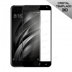 Protector Pantalla Cristal Templado Xiaomi Mi6 (3D Negro)