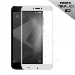 Protector Pantalla Cristal Templado Xiaomi Redmi 4X (FULL 3D Blanco)