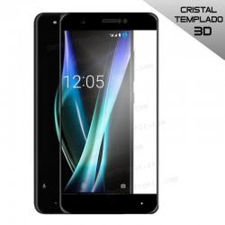 Protector Pantalla Cristal Templado BQ Aquaris X / X Pro (3D Negro)