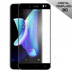 Protector Pantalla Cristal Templado BQ Aquaris V Plus / VS Plus (3D Negro)