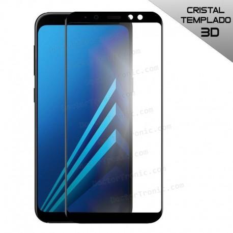 Protector Pantalla Cristal Templado Samsung A530 Galaxy A8 (2018) 3D