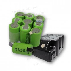 Reparación Batería Leica GEB77