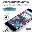 Reparación puerto de carga USB 3.1 Tipo C
