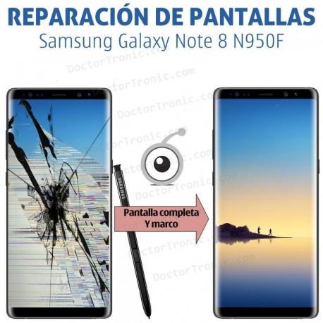 Reparación pantalla completa Samsung Galaxy Note 8 N950F