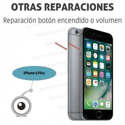 Reparación iPhone 6 plus botón encendido o volumen