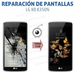 Reparación pantalla LG K8