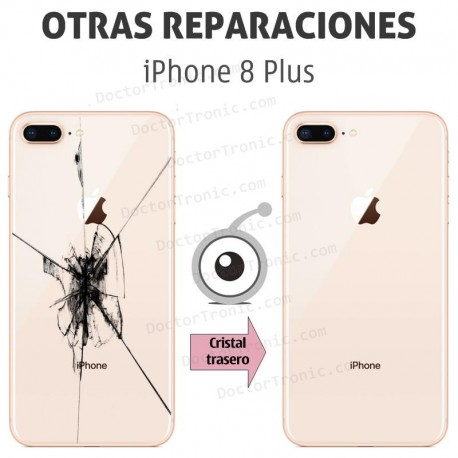 Reparación cristal trasero iPhone 8 Plus