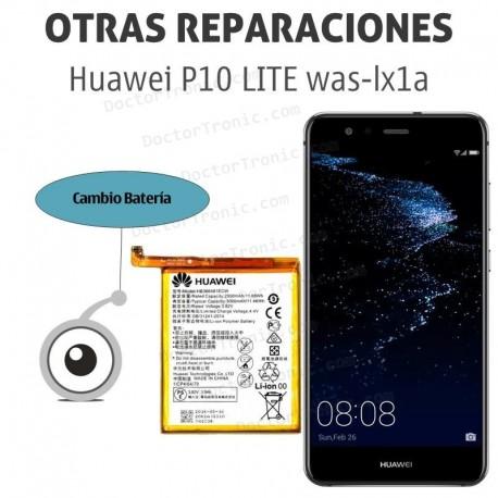 Cambio batería Huawei P10 Lite