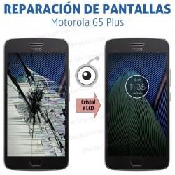 Cambio pantalla completa Motorola Moto G5 Plus
