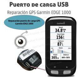 Reparación puerto de carga GPS Garmin EDGE 1000