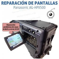 Reparación LCD Panasonic AG-HPX500