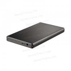 """Caja Externa USB - Tooq TQE2522B - Caja de disco duro (2.5"""", SATA/IDE, USB 2.0)"""