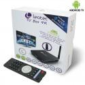 Android TV Box con Mando 3GOAndroid TV Box 4K Con Mando Leotec (Quad Core)