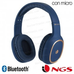 Auriculares Stereo Bluetooth Cascos Universal NGS Artica Envy