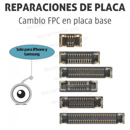 Cambio FPC en placa base de smartphone