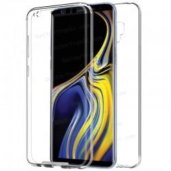 Funda Silicona 3D Samsung N960 Galaxy Note 9 (Transparente Frontal + Trasera)