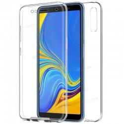 Funda Silicona 3D Samsung A750 Galaxy A7 (Transparente Frontal + Trasera)