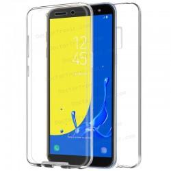 Funda Silicona 3D Samsung J600 Galaxy J6 (Transparente Frontal + Trasera)