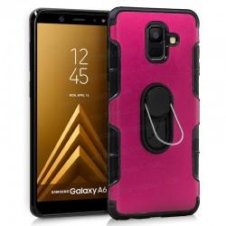 Carcasa Samsung A600 Galaxy A6 Aluminio + Anilla (colores)