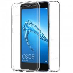 Funda Silicona 3D Huawei Y7 (Transparente Frontal + Trasera)