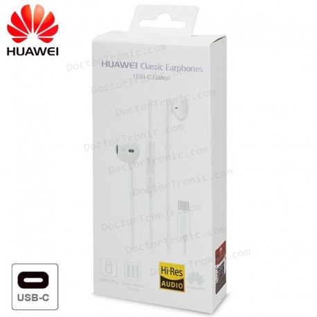 Auriculares 3,5 Mm Universal Original Huawei Tipo C (Blister)