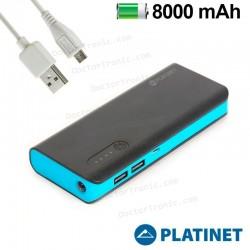Bateria Externa Micro-Usb Power Bank 8000 MAh Platinet
