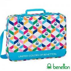 Maletín Ordenador Portátil 15-16 Pulg Licencia United Colors Of Benetton Colors