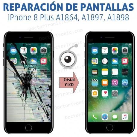 Reparación Pantalla iPhone 8 Plus