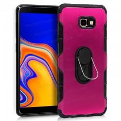 Carcasa Samsung J415 Galaxy J4 Plus Aluminio + Anilla (colores)