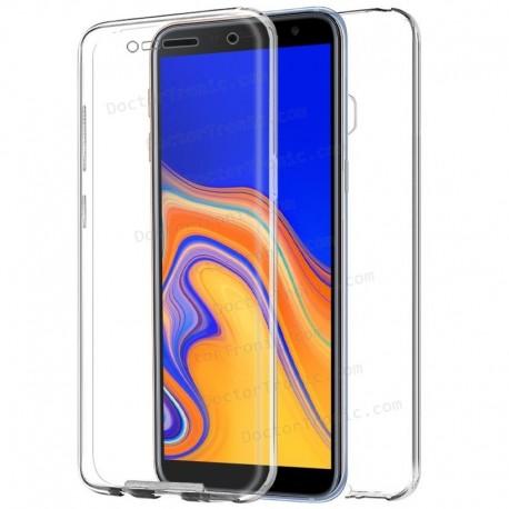 d5718b87257 Funda Silicona 3D Samsung J415 Galaxy J4 Plus (Transparente Frontal +  Trasera)