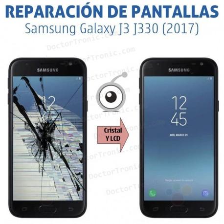 Reparación pantalla completa Samsung Galaxy J3 J330 (2017)