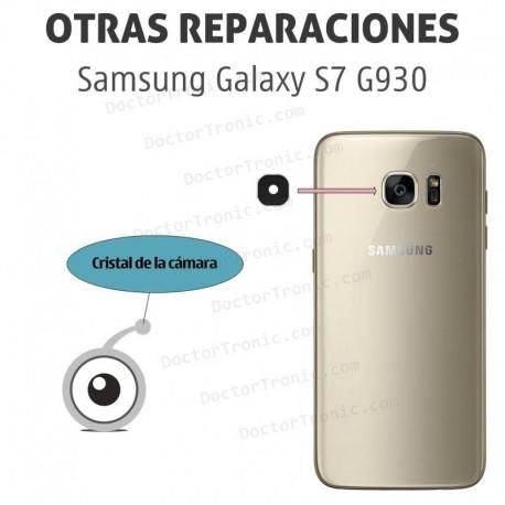 Cambio lente cámara Galaxy S7 G930