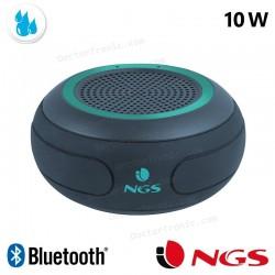 Altavoz Música Universal Bluetooth Marca Roller NGS Waterproof IPX7 Mint (10W)