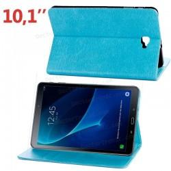 Funda Samsung Galaxy Tab A (2016) Versión S PEN (P580 / P585) Polipiel Liso Azul 10.1 Pulg
