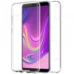 Funda Silicona 3D Samsung A920 Galaxy A9 (2018) (Transparente Frontal + Trasera)