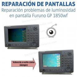 Reparación problemas de pantalla Furuno GP 1850wf