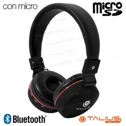 Auriculares Stereo Bluetooth Cascos HPH-5006BT Talius
