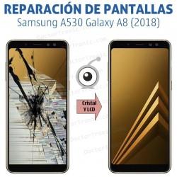 Cambio pantalla completa Samsung A530 Galaxy A8 (2018)