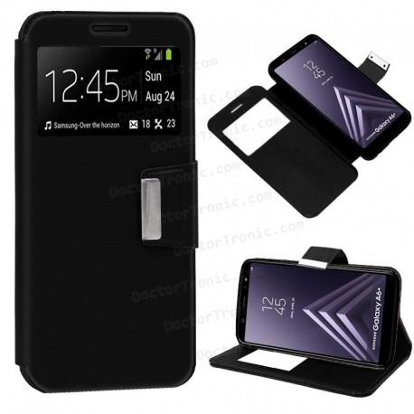 Funda Flip Cover Samsung A605 Galaxy A6 Plus (colores)