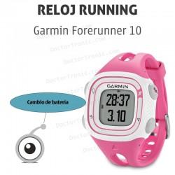 Cambio batería GPS Garmin Forerunner 10