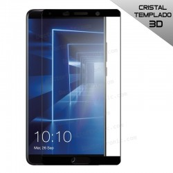Protector Pantalla Cristal Templado Huawei Mate 10 (3D Negro)