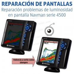 Reparación problemas de pantalla Navman serie 4500